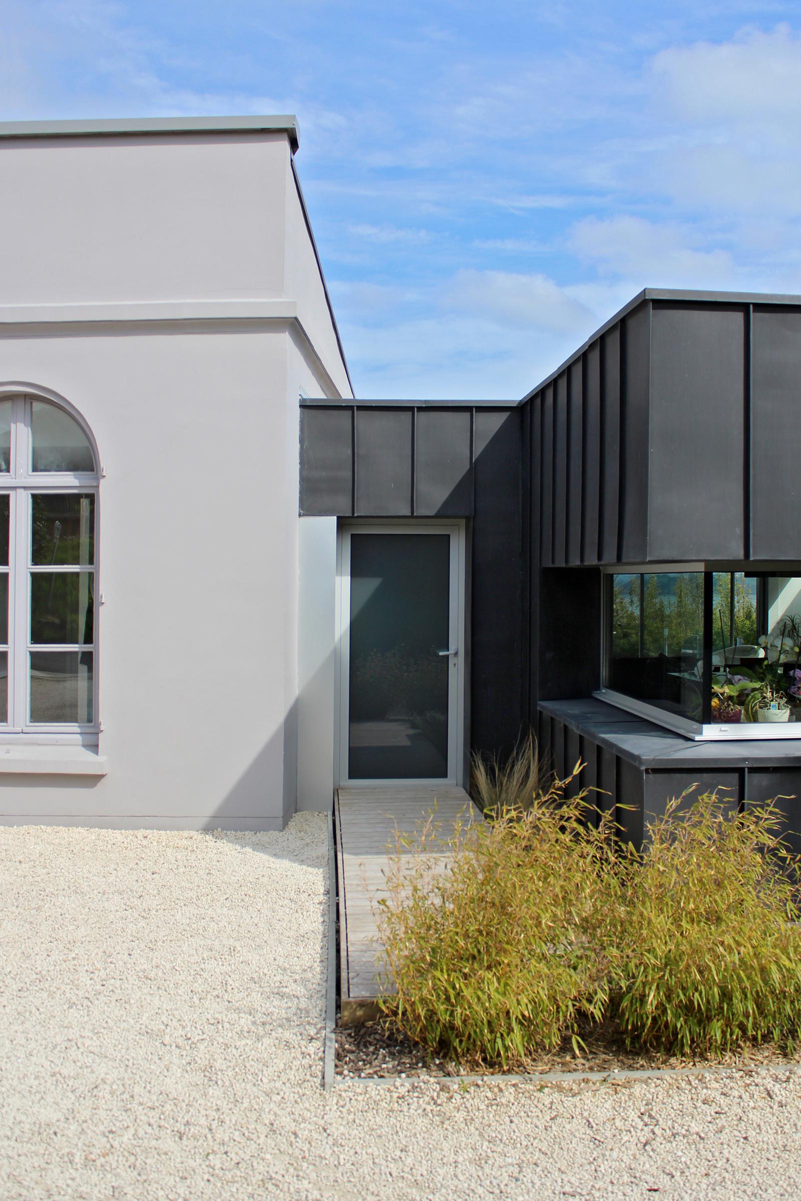Extension Et R Habilitation D Une Maison D Habitation Saint Brieuc Maison C Ronan Cariou