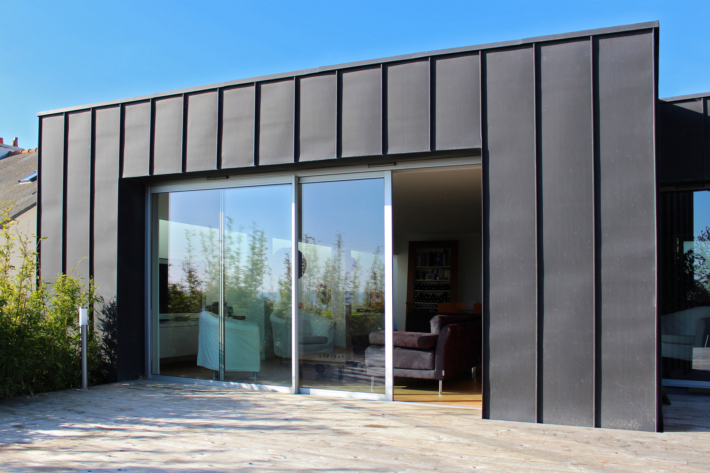 Extension maison metallique cool with extension maison for Extension maison ossature metallique