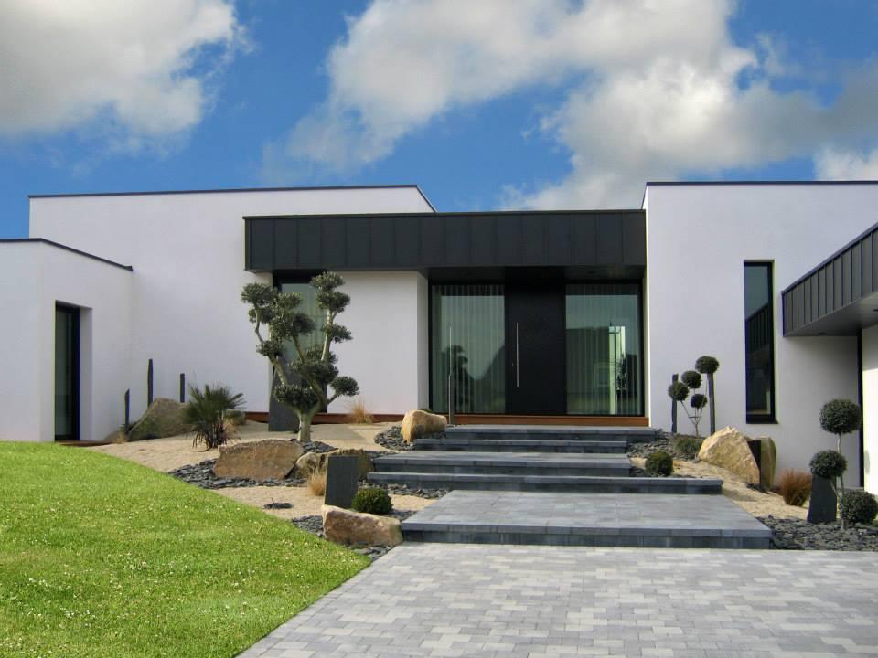 Aménagement intérieur d\'une maison contemporaine à Langeux - Maison B1
