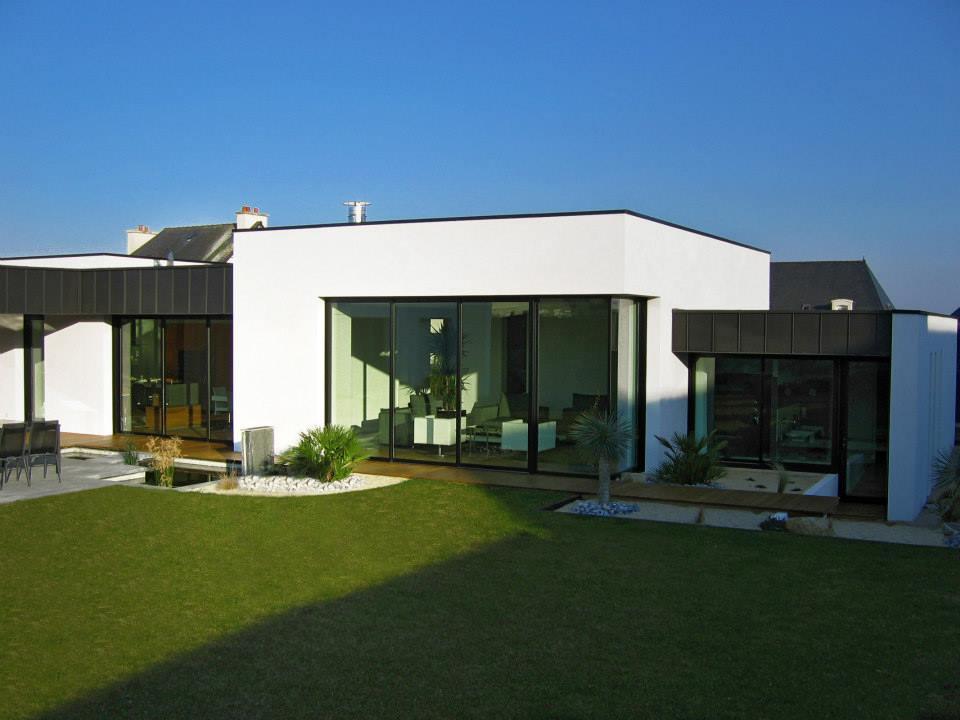 Am nagement int rieur d 39 une maison contemporaine langeux maison b1 - Amenagement interieur d une maison ...